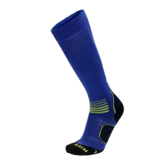 Running Socks Mico OxyJet Medium Socks  Blue/Volt CA 1275 446