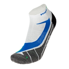 Running Socks Mico Argento XT2 Light Weight Socks  White/Grey CA 1607 427