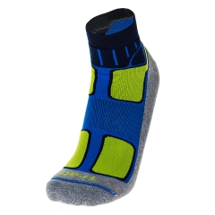 Running Socks Mico Professional Medium Socks  Grey/Blue CA 3052 312