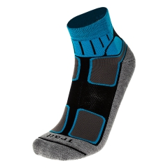 Running Socks Mico Professional Medium Socks  Grey/Black CA 3052 595