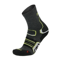 Running Socks Mico OxyJet Trekking Light Socks  Anthracite CA 3090 166