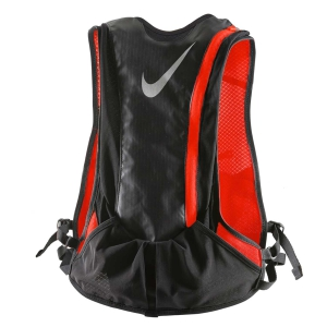 Zaino idratazione Nike Hydration Race Vest Backpack  Black/Fluo Orange N.RL.84.064