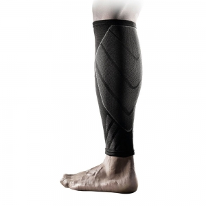 Sport Supports Nike Advantage Knitted Calf Sleeve  Black/Grey N.MS.86.031
