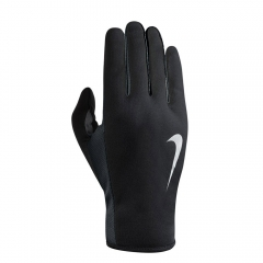 Running gloves Nike Women's Rally 2.0 Run Gloves  Black/Grey/Silver N.RG.E8.045