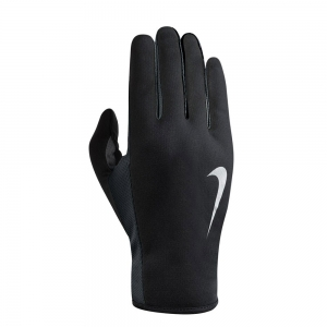 Guantes Running Nike Rally 2.0 Run Guantes Mujer  Black/Grey/Silver N.RG.E8.045