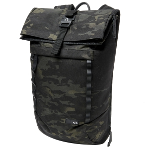 Backpack Oakley Voyage 23L Roll Top Backpack  Camo Green 92968P02L