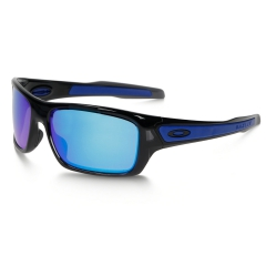 Occhiali Running Oakley Turbine  Sapphire Iridium/Black Ink 0OO92630563