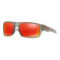 Running Sunglasses Oakley Drop Point Ruby Iridium/Grey Ink 0OO93670360