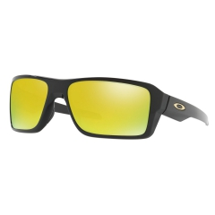 Running Sunglasses Oakley Double Edge 24K Iridium/Polished Black 0OO93800266