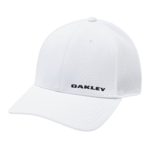 Hats & Visors Oakley Silicon Bark Trucker 4.0 Cap  White 911021100