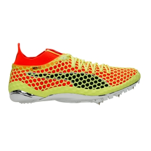 Puma evoSPEED NETFIT Sprint - Volt/Fluo Red