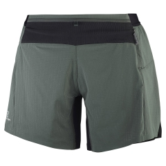 Salomon Lightning Pro Twinskin Shorts - Military Green