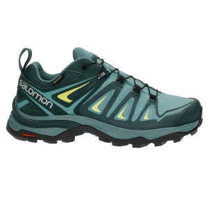 Women's Outdoor Shoes Salomon X Ultra 3 GTX  Mint Green/Green L40006500