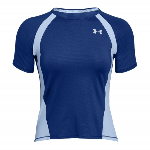 Women's Running T-Shirts Under Armour Coolswitch Run TShirt  Blue 13139990574