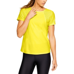 Under Armour Under Armour Vanish Disrupt Mesh TShirt  Yellow  Yellow 13165910159