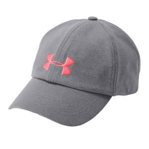 Hats & Visors Under Armour Womens Microthread Renegade Cap Womens  Grey/Pink 13062890040