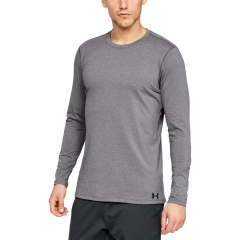 Under Armour ColdGear Fitted Crew Shirt - Grey
