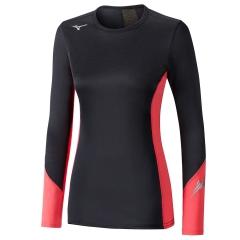 Mizuno Virtual Body G2 Shirt - Black/Coral