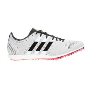 Men's Race Running Shoes Adidas Adizero Avanti  White/Black B37486