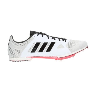Men's Race Running Shoes Adidas Adizero MiddleDistance  White/Black B37493