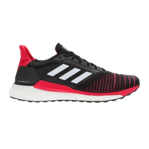 cheap for discount 0f22b 9c23f Mens Neutral Running Shoes Adidas Solar Glide BlackFuxia D97437