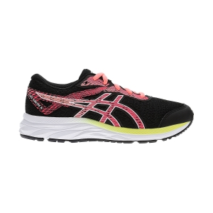 Junior Running Shoes Asics Gel Excite 6 GS Girl  Black/Laser Pink 1014A079002