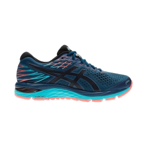 Women's Neutral Running Shoes Asics Gel Cumulus 21 GTX  Mako Blue/Midnight 1012A487400