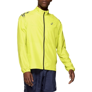 Men's Running Jacket Asics Icon Jacket  Yellow 2011A449750