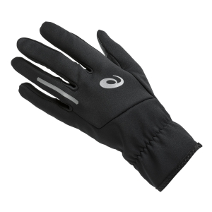 Guantes Running Asics Lite Show Performance Gloves  Black 3013A166001