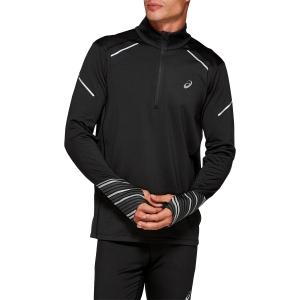 Asics Lite Show 1/2 Zip Winter Shirt - Black