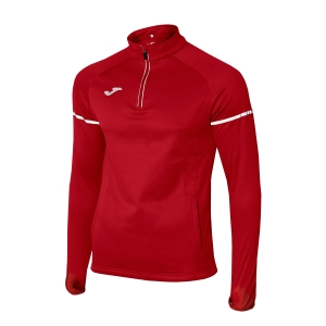Men's Running Shirt Joma Race 1/2 Zip Shirt  Red 100978.600