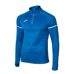 Men's Running Shirt Joma Race 1/2 Zip Shirt  Blue 100978.700