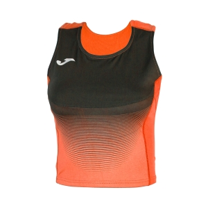 Women's Running Tank Top Joma Elite VI Top  Fluo Orange/Black 900642.051