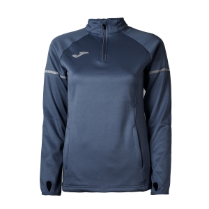 Women's Running Shirt Joma Race 1/2 Zip Shirt  Navy 900661.331
