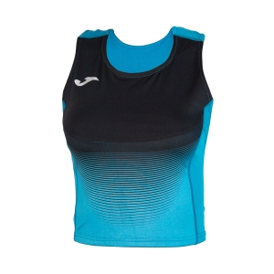 Women's Running Tank Top Joma Elite VI Top  Turquoise/Black 900642.011