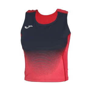 Women's Running Tank Top Joma Elite VI Top  Red/Navy 900642.603