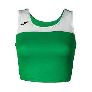 Women's Running Tank Top Joma Race Top  Green/White 900758.450