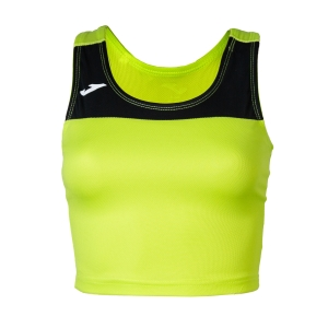 Women's Running Tank Top Joma Race Top  Lime/Black 900758.401