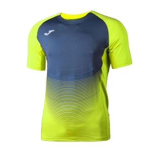 Men's Running T-Shirt Joma Elite VI TShirt  Volt/Navy 100949.063