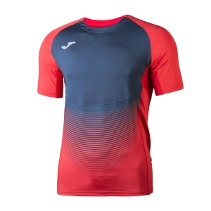Men's Running T-Shirt Joma Elite VI TShirt  Red/Navy 100949.603