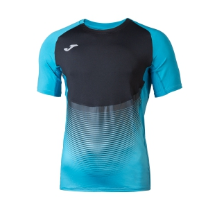 Men's Running T-Shirt Joma Elite VI TShirt  Turquoise/Black 100949.011