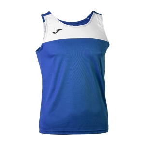 Men's Running Sleeveless Joma Race Tank  Blue/White 101033.702
