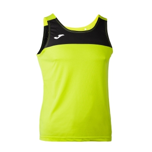 Canotte Running Uomo Joma Race Tank  Lime/Black 101033.401