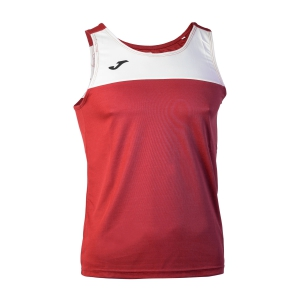 Men's Running Sleeveless Joma Race Tank  Red/White 101033.602
