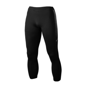 Men's Running Tights Joma Elite VI Long Tights  Black 700001.100