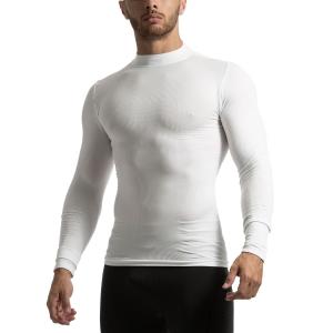 Mico Active Skin Hi-Neck Maglia - Bianco