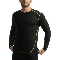 Mico Dualtech Merino Shirt - Nero/Cedro