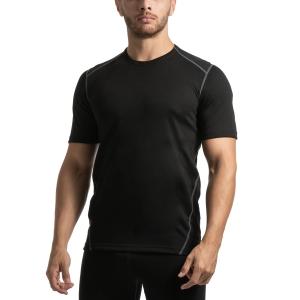 Mico Dualtech Merino T-shirt - Nero/Grigio