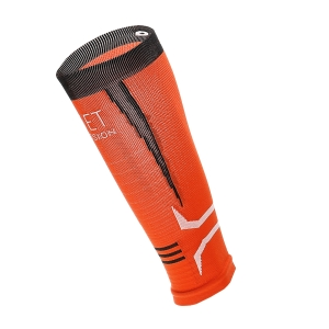 Mico Oxi-Jet Compression Calentador de Pantorrilla - Orange