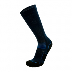 Mico Oxi-Jet Medium Socks - Navy/Black